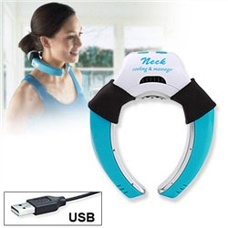 Neck cooling massager pillow-bantal terapi